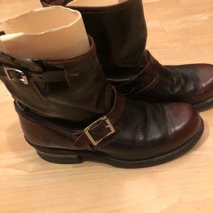 Frye engineer boots 8.5